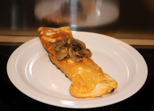 Mushroom Omelette